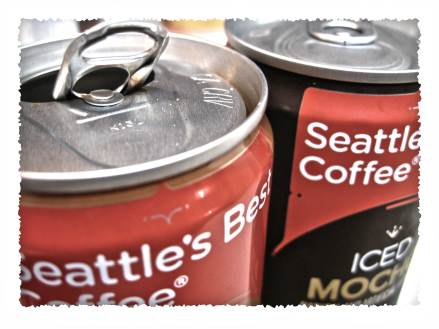 Seattle's Best Coffee- Iced Latte in a Can
