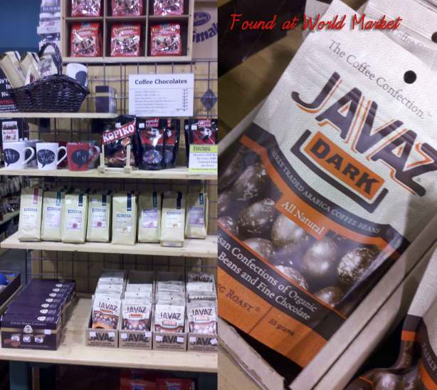 Coffee Plus Chocolate at World Market