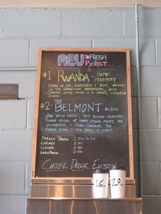 Rev Coffee Roasters Belmont Blend