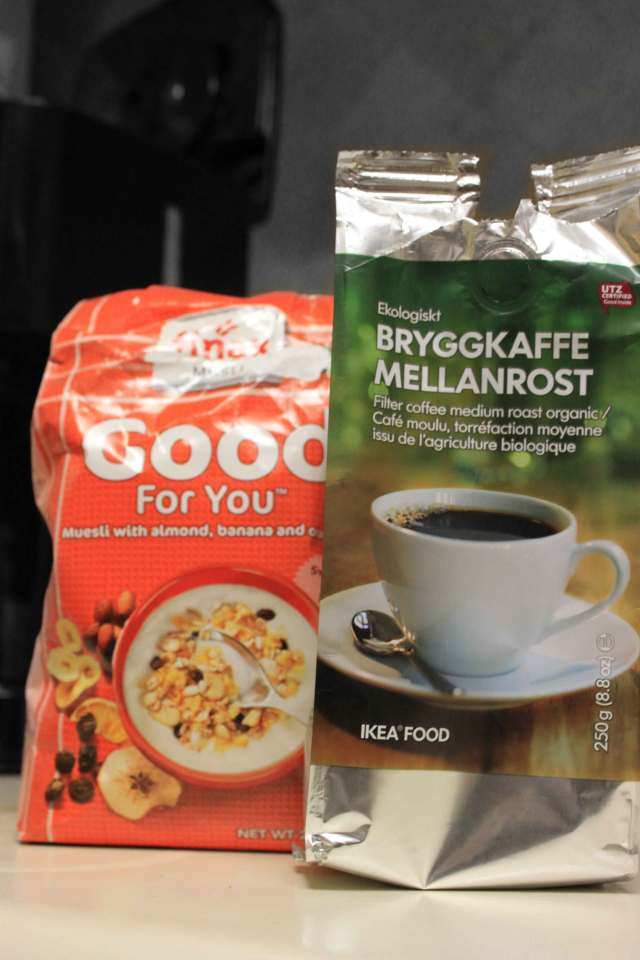 swedish coffee and cereal